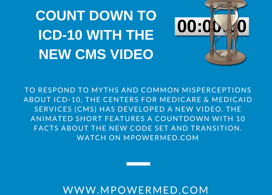 Count Down to ICD-10 with the New CMS Video
