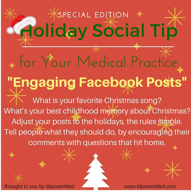 Holiday Edition Social Tip: Engaging Facebook Posts - MpowerMed
