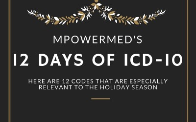 On the Twelfth day of… ICD-10??