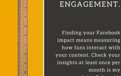 Social Tip: Measure fan engagement