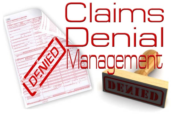 Manage Denied and Rejected Claims