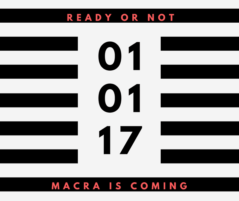 MACRA: Ready or Not, Here I Come