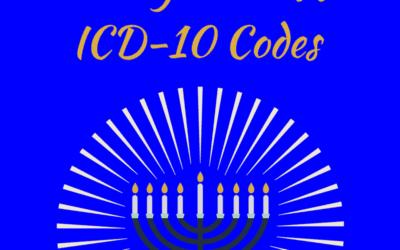 8 Crazy Hanukkah ICD-10 Codes