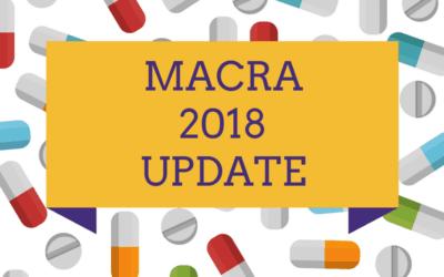 What's New in MACRA 2018?