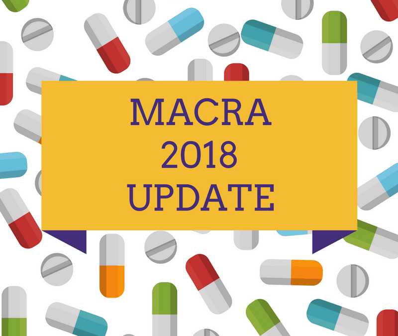 What's New in MACRA 2018?