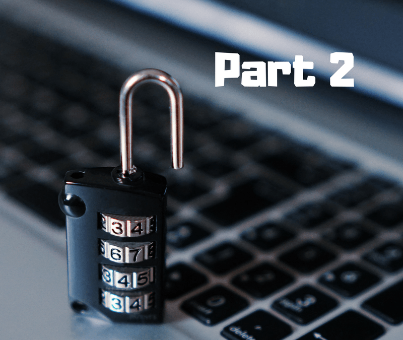 11 Easy to Implement Data Security Tips for Medical Practices – Part 2